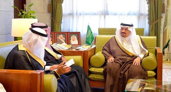 أمير الرياض يطلع على استعدادات منتدى الرياض الاقتصادي