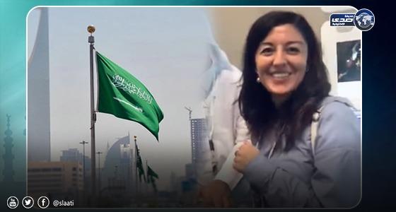 بالفيديو..تعليق أول أجنبية تستفيد من خدمة التأشيرة السياحية الجديدة