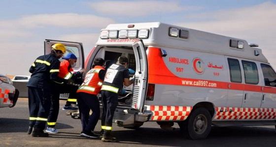 إصابة طالبتين في حادث مروري بالأفلاج