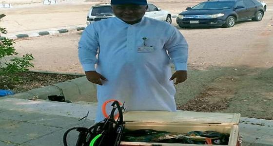 ضبط 7 أشخاص يمارسون صيد الأسماك بـ«البنادق» في جدة