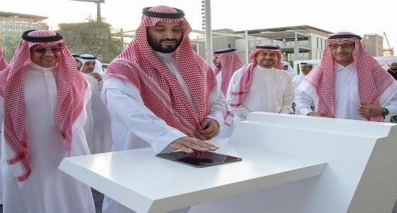 سمو ولي العهد يزور معرض إكسبو2020 في دبي