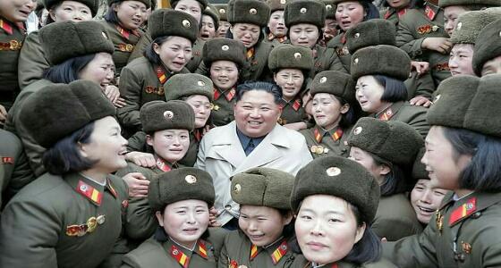 «صورة» لـ زعيم كوريا الشمالية تثير السخرية على مواقع التواصل