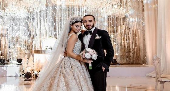 بالفيديو والصور.. حفل زفاف أول عارضة أزياء يمنية يخطف الأنظار