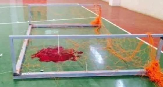 وفاة طالب إثر سقوط عارضة المرمى عليه ببلقرن