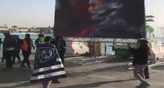 بالفيديو.. جماهير الهلال تحتفل بالبطولة الآسيوية في بوليفارد الرياض