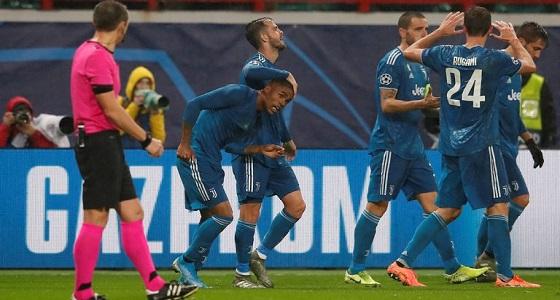 يوفنتوس يتأهل إلى ثمن نهائي دوري أبطال أوروبا