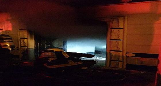اندلاع حريق في منزل بسبب ماس كهربائي
