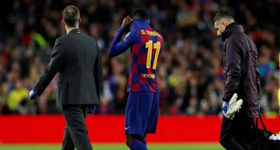 فترة غياب ديمبلي تصعق برشلونة