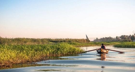امرأة تلقي طفلها في نهر النيل لتخلصه من تعذيب جدته