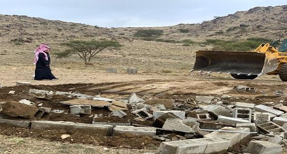 بلدية الشعف تستعيد مليون م2 من الأراضي الحكومية