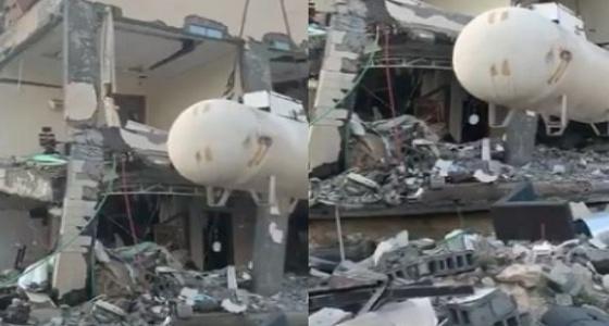 مفاجأة في واقعة انهيار مبنى الدمام