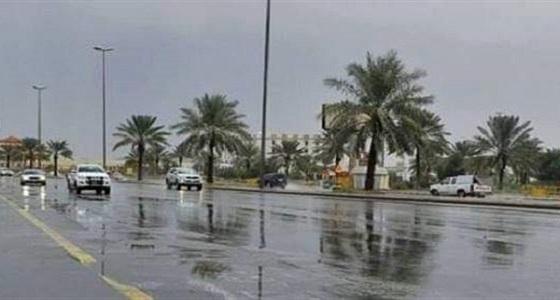 الأرصاد تحذر من هطول أمطار رعدية على منطقتين