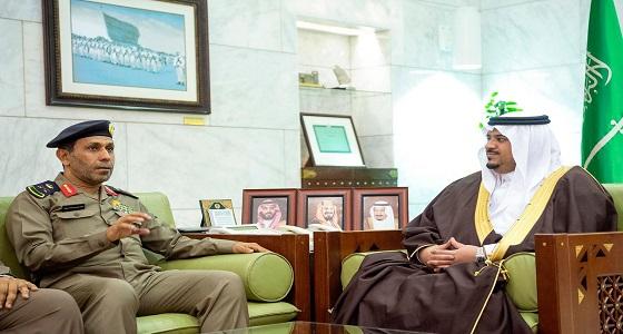 أمير الرياض يستقبل مدير الدفاع المدني بالمنطقة