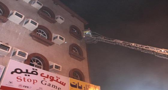 بالصور.. إصابة 8 أشخاص في حريق شقة بحي الشوقية