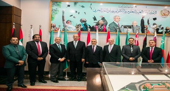 د/ النامي يزور الأكاديمية العربية للعلوم والتكنولوجيا والنقل البحري