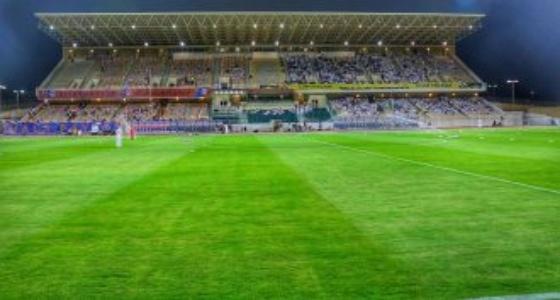 ملعب المجمعة مرجح لاستضافة مواجهة عفيف والنصر