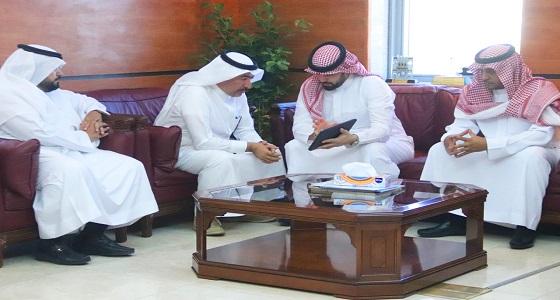 بالصور.. أمين عسير يلتقي برجل الاعمال محمد الشربتلي و مجموعة من المستثمرين