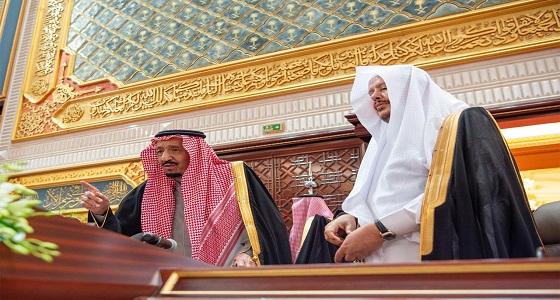 في كلمة جانبية بمجلس الشورى.. خادم الحرمين: نأمل التوفيق لإخواننا العرب (فيديو)