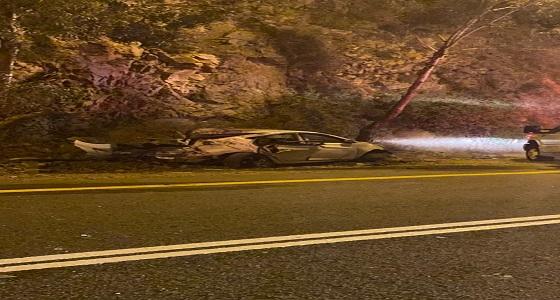 وفاة شخص في حادث تصادم بالمندق
