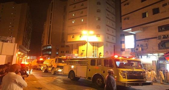 إخلاء 180 شخص من فندق بعد إندلاع حريق في سخان كهربائي