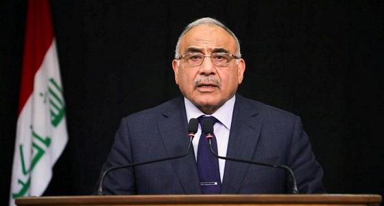عبدالمهدي يقدم استقالته لتفكيك أزمة العراق