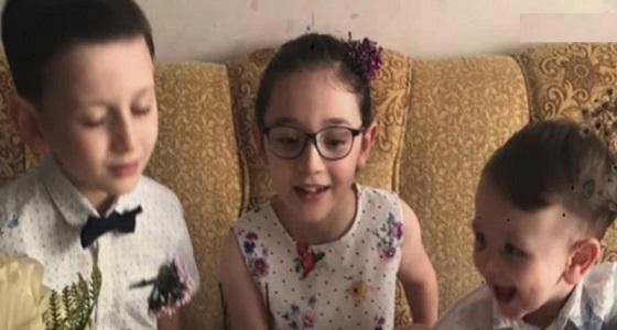 بالفيديو.. قصة مأساة غرق طفلين أمام والديهما أثناء الهروب من بطش أردوغان