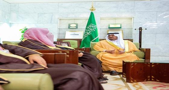 نائب أمير الرياض يستقبل مدير فرع الرئاسة العامة لهيئة الأمر بالمعروف