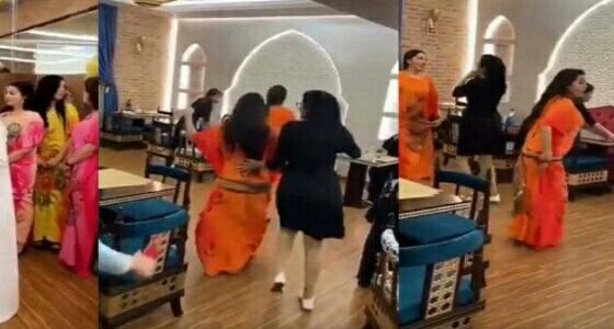 بالفيديو.. موجة غضب من افتتاح مطعم ورقص فتيات: ملهى ليلي