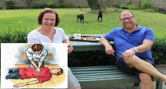 بعد توقف قلبه مرتين.. قصة مؤثرة لزوجة أنقذت حياة زوجها