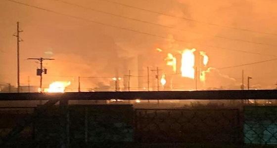 انفجار بمصنع كيماويات بتكساس يدفع بكتلة لهب في السماء