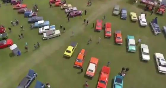 بالفيديو.. مشهد استعدادت الجنادرية لإقامة معرض السيارات بالرياض