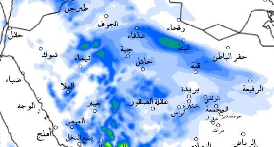 «الحصيني» يكشف عن توقعاته للأمطار خلال الـ 36 ساعة القادمة