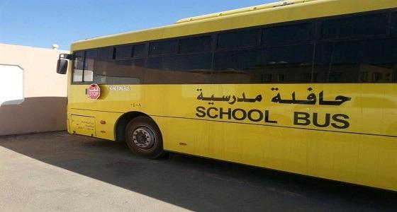 دهس طالبين بعد نزولهما من حافلة المدرسة بنجران