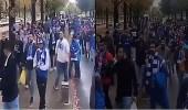 بالفيديو.. جماهير الهلال تحتشد في سايتاما لدعم الزعيم ضد أوراوا