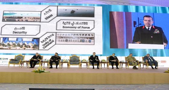 مؤتمر البحرية نراقب حركة الآف السفن لضمان أمن المياه البحرية في الشرق الأوسط