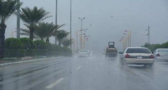 الأرصاد تحذر من استمرار هطول أمطار على منطقتين