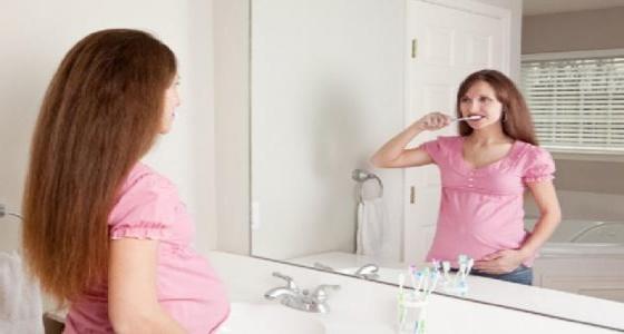 نصائح لوقاية الحامل من مشكلات الأسنان