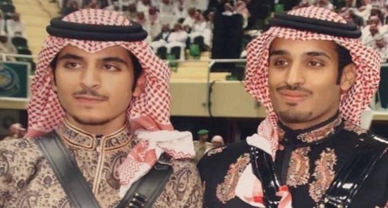 شاهد.. صورة نادرة لولي العهد وابن عمه في مهرجان الجنادرية 2006