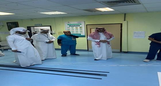 وكيل محافظة المجاردة يزور مستشفى المجاردة العام