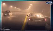 بالفيديو..الأمطار تغسل شوارع مكة المكرمة