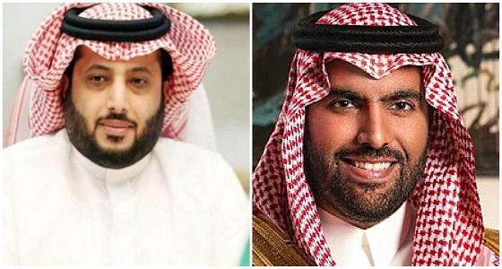تركي آل الشيخ يمازح وزير الثقافة: بشتري قلامة ودفاتر وجاهز
