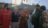 الجيش الليبي يحتجز سفينة طاقمها تركي