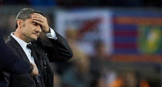 «فالفيردي» على باب الخروج بعد تحديد البديل لتدريب برشلونة