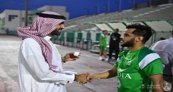 الصائغ يدعو لاعبي الأهلي لتجاوز خسارتهم الماضية أمام الشباب في دوري المحترفين
