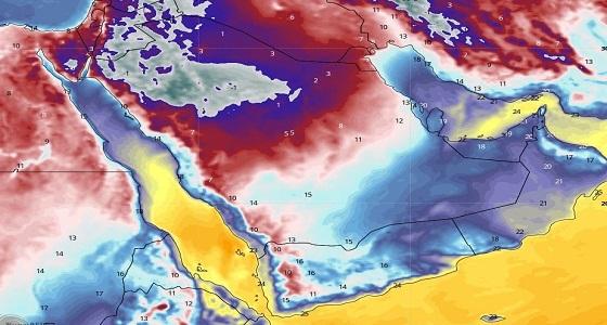 الجهني: موجة باردة قادمة تبدأ الأربعاء