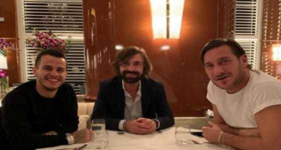 تعليق صحف إيطالية على صورة محترف الهلال مع توتي وبيرلو