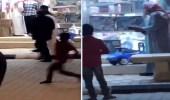 بالفيديو..لحظة القبض على مُطلق النار في سوق الذهب