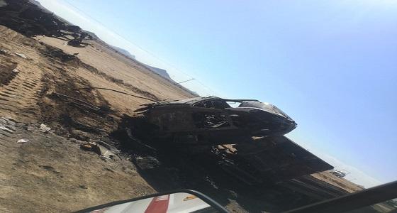 بالصور.. مصرع وإصابة 6 أشخاص على طريق حضن بالطائف