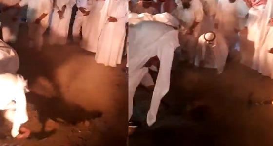 بالفيديو.. لحظة دفن الأمير متعب بن عبدالعزيز