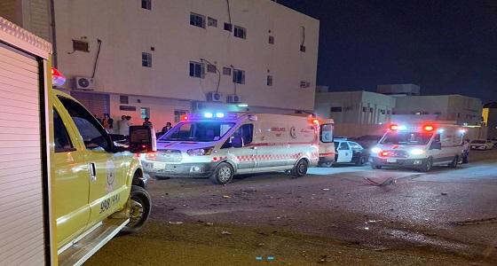 وفاة و 6 إصابات في حادث سير لعائلة بالرياض